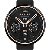 Chrono Beige watchface by Empi