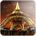 Paris scenery wallpaper logo