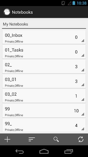 Notebook+ Offline Evernote