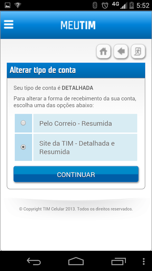 MEU TIM - screenshot