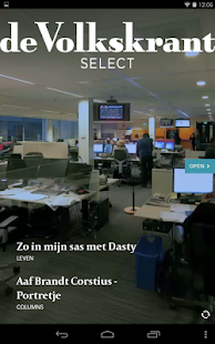 de Volkskrant Select - screenshot thumbnail