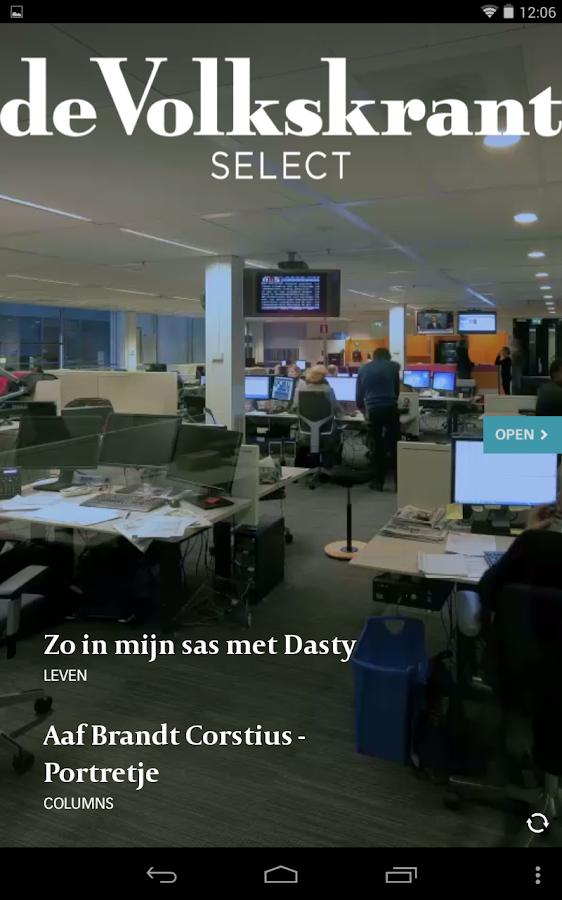 de Volkskrant Select - screenshot