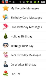 Birthday Messages screenshot 1