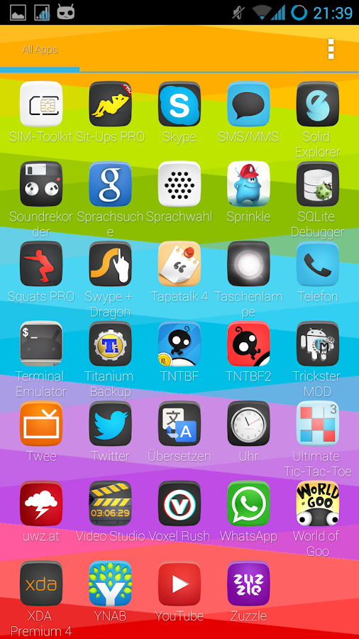 Holofied Icon Pack HD FREE- screenshot