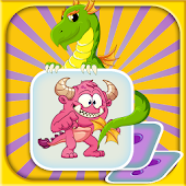 Fantasy Memory Match kids Game