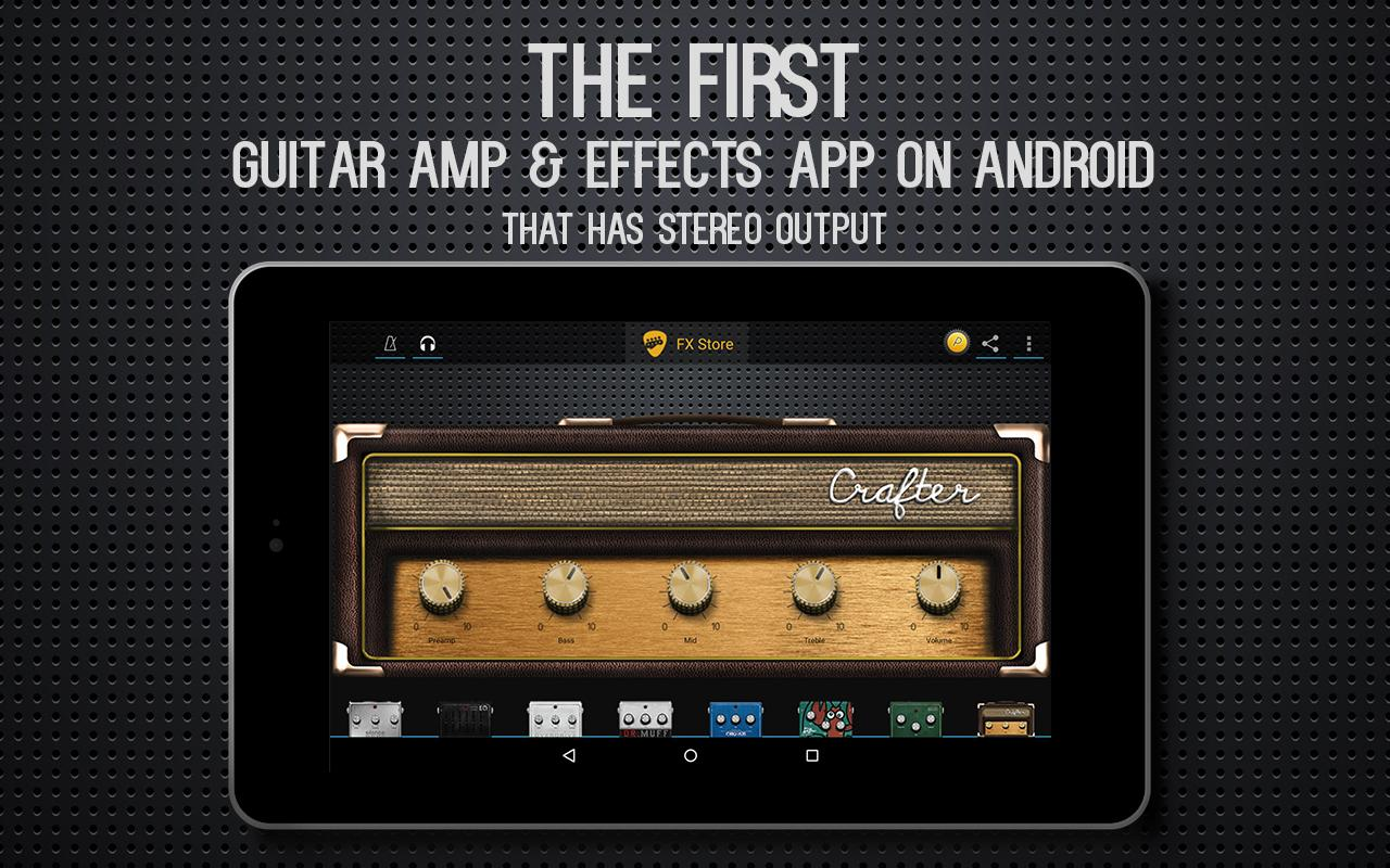 guitar amp effects usb audio app android su google play. Black Bedroom Furniture Sets. Home Design Ideas