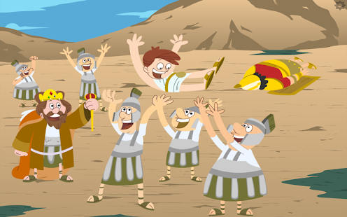 David & Goliath Bible Story - screenshot thumbnail
