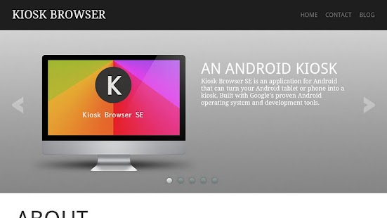 Kiosk Browser SE- screenshot thumbnail