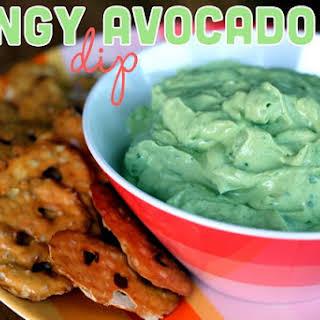 Tangy Avocado Dip.