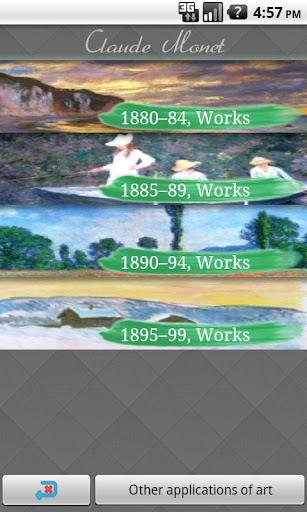 Claude Monet II Art Wallpaper