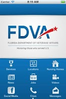 Screenshot of Florida Dept. Veterans Affairs