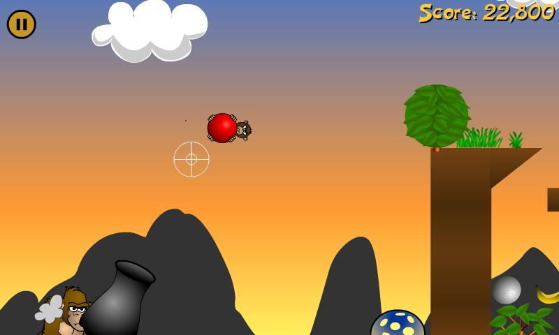 Angry Apes- screenshot