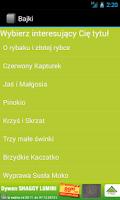 Screenshot of Bajki