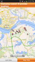 Screenshot of Aetna Southeast Asia Provider