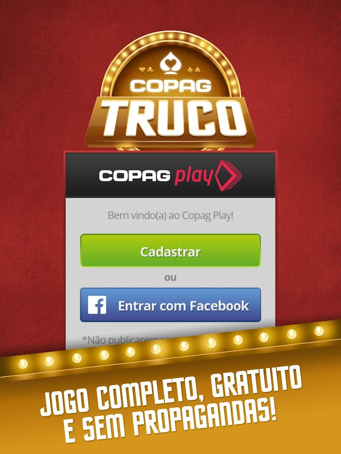 Truco - Copag Play: captura de tela