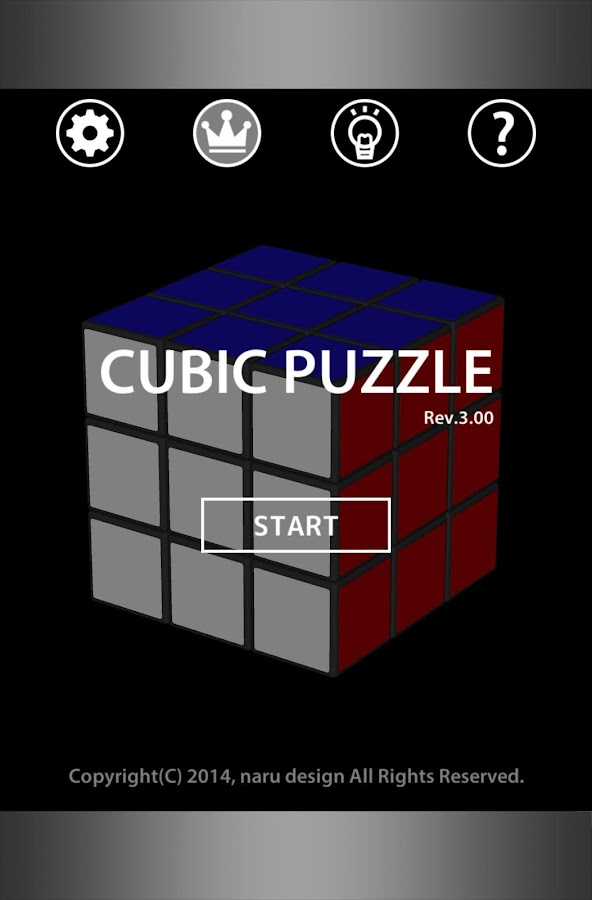 CUBIC PUZZLE- screenshot