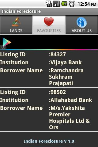 India Foreclosures - screenshot