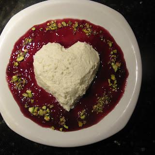 Coeur a la Creme de Mozzarella.