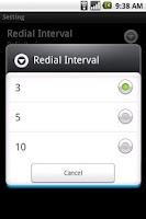 Screenshot of Super Auto Redial