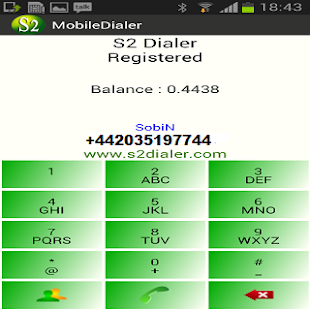 S2 Mobile Dialer - screenshot thumbnail