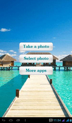 Maldives Beaches Photo Frames