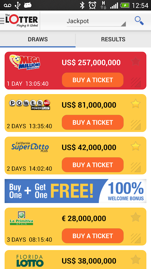 Lottery Results – theLotter - screenshot