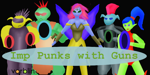 Imp Punks with Guns