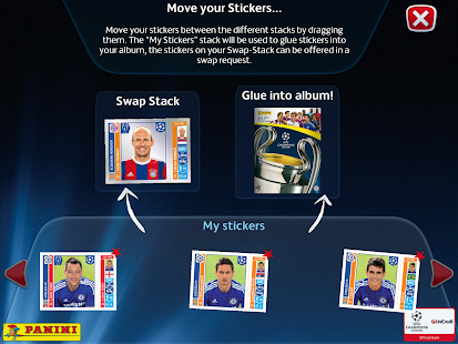 UCL Virtual Sticker Collection - screenshot thumbnail