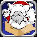 Flying Santa Cat icon