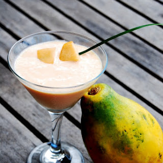 Tropical Papaya Smoothie