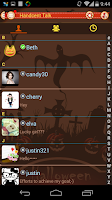 Screenshot of Handcent 6 (Halloween 2013)