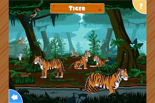 子供のための動物のゲーム