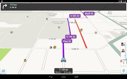 Waze Social GPS Maps & Traffic– Vignette de la capture d'écran