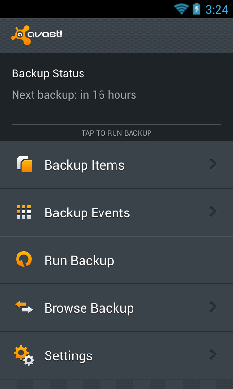 Mobile Backup & Restore- screenshot