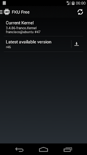 franco.Kernel updater Free - screenshot thumbnail