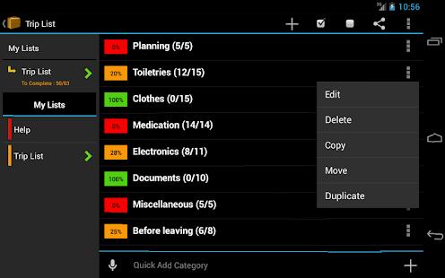 Trip Planner - screenshot thumbnail