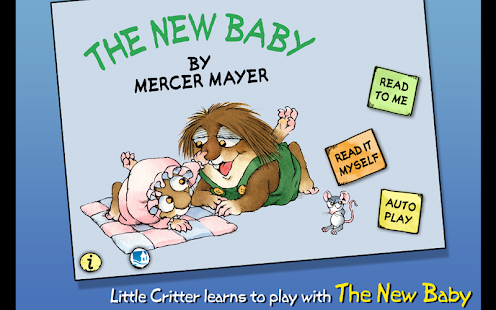 The New Baby - Little Critter - screenshot thumbnail