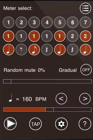 Time Guru Metronome - screenshot
