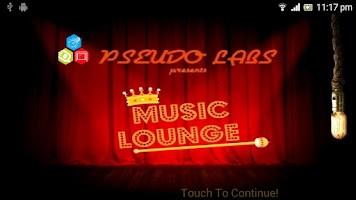 Screenshot of Music Lounge