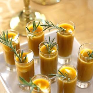 Roasted Butternut Squash Soup with Crème Fraîche