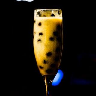 New Year's Eve Idea – Almond Custard with Berries.