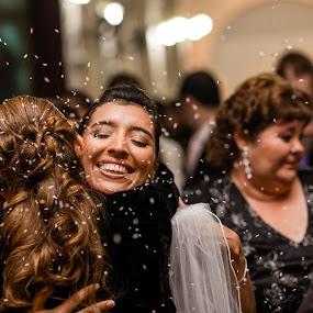 All Done by Jorge Asad - Wedding Ceremony ( happyness, rice, church, elegance, wedding, celebration, bride, ceremony, people )