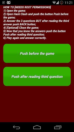 Hack Quiz [ROOT]