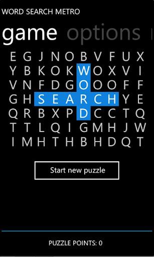 Word Search Metro Lite