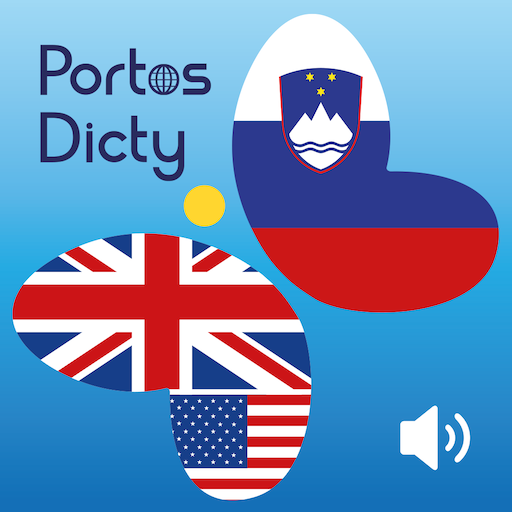 PortosDicty English Slovenian 旅遊 LOGO-阿達玩APP