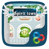 Spirit Town GO Launcher Theme