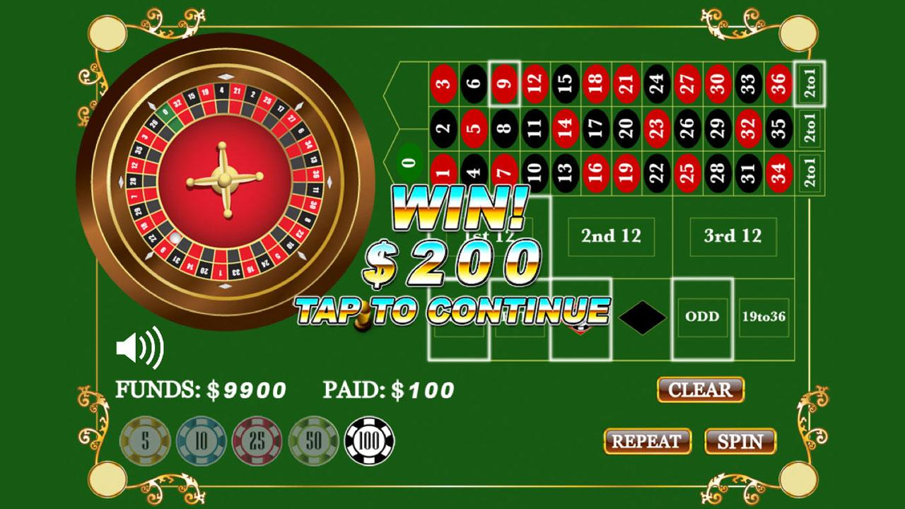 Roulette - screenshot