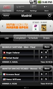 ATP/WTA Live - screenshot thumbnail