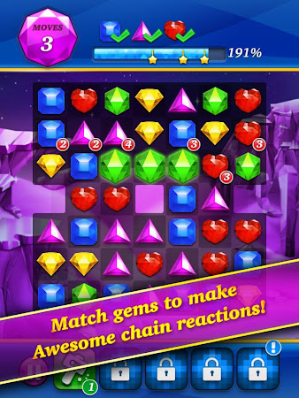 Gem Mania:Diamond Match Puzzle 1.2.3 screenshot 265913