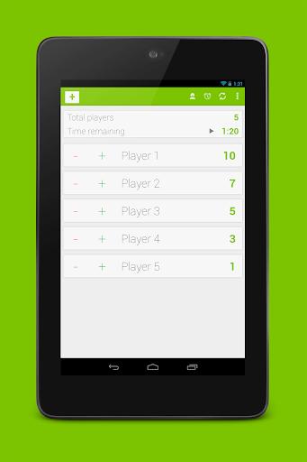 【免費生產應用App】Score Counter-APP點子